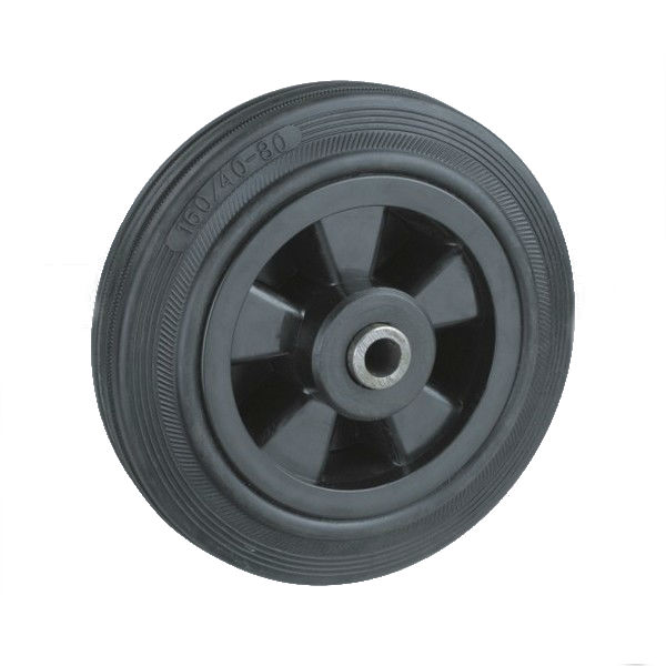 100 mm Rubber wiel type: KPRP1-100